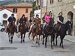A cavallo sulle orme di Francesco
